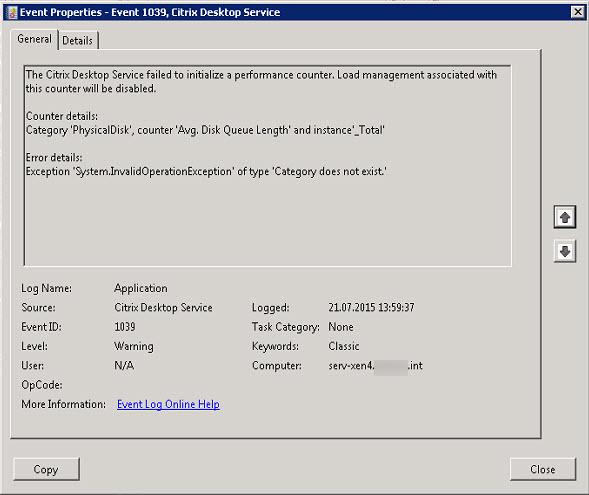Xendesktop broker service log