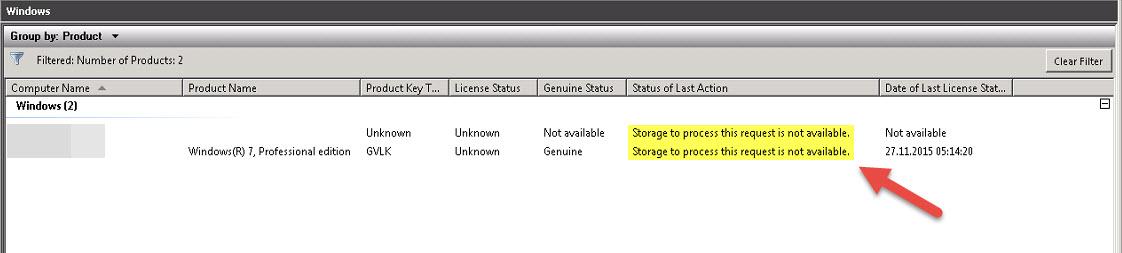 Microsoft KMS / VAMT v2 x and v3 x - Error 0x80070054 - Storage to