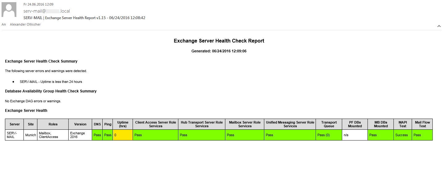 Exchange 2016 - Poor Outlook 2016 Performance