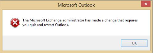 Microsoft Exchange 2016 Migration - Outlook keeps prompting